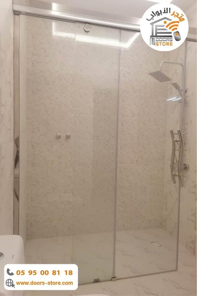 كابينة استحمام شفاف
