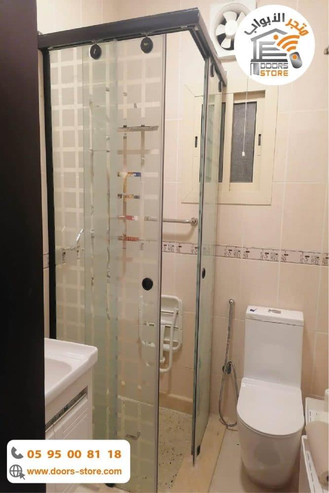 كابينة استحمام 90*90 مفتوح