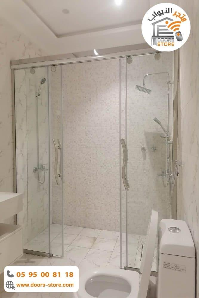 كابينة استحمام درفتين