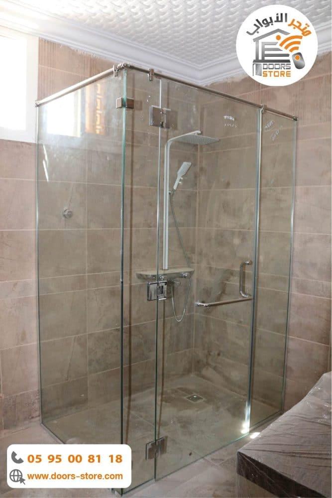 كبينة استحمام بجنبين