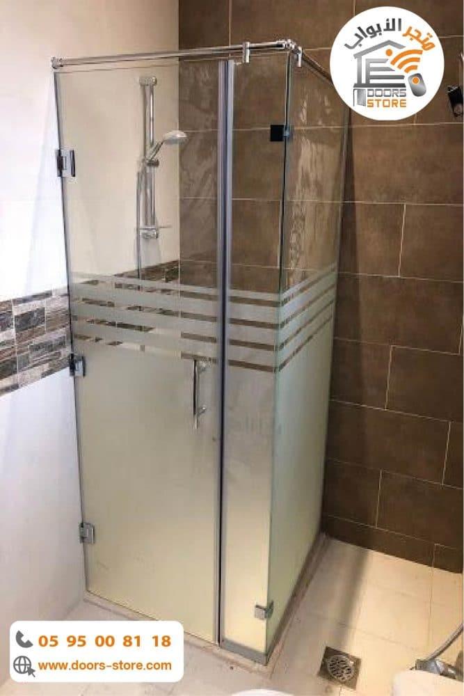 كبينة استحمام مفصلي درفة