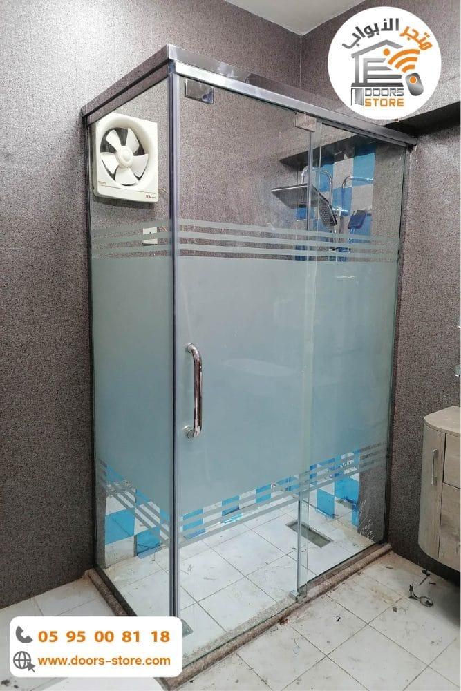 كابينة استحمام بجنبين