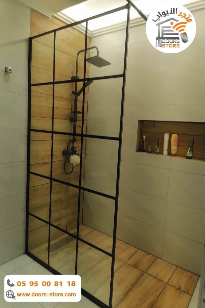 حاجز زجاجي للحمام